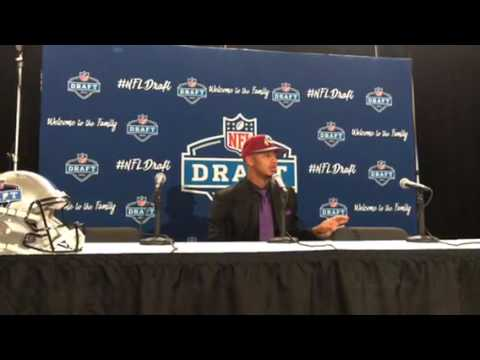 Josh Doctson Washington Redskins 2016 NFL Draft 1st Round Pick Interview #NFLDraft