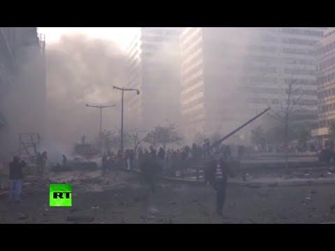 Video: Deadly explosion rocks Beirut near parliament building