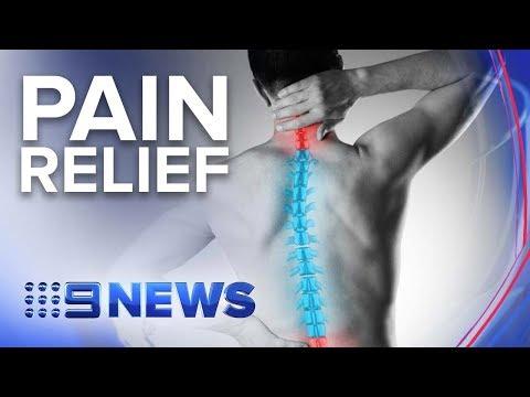 Australian Trial Relieving Chronic Back Pain | Nine News Australia