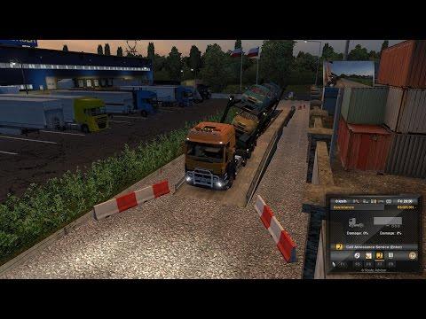 Euro Truck Simulator 2: Episode 222 Skoda Fabia Cars to Suwalki (PL)