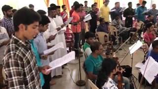 Sarvashaktan Yahova.. Practice session