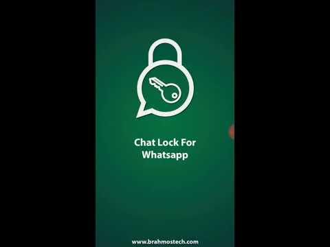 Как сделать секретный чат в whatsapp