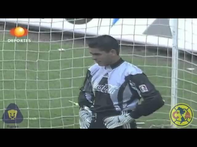 8b7e9f5dd Los 5 mejores momentos en la carrera de Jorge Campos - Futbol RF