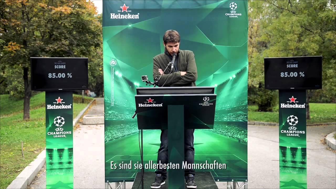 Guerilla marketing - Heineken The Last Tickets 2015 - YouTube