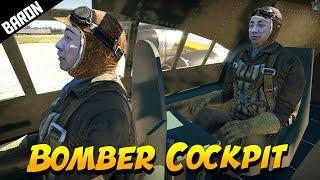 Bomber Cockpits are AMAZING - War Thunder 1.65