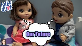 Baby Alive Boys Get Girlfriends: Tommy & Madeline's Future | Kelli Maple