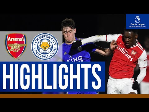 Arsenal 3 Leicester City 0 | PL International Cup | Under-23s