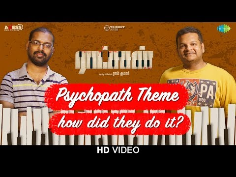Psychopath Theme | Ratsasan | Original Background Music | Ghibran | Ramkumar | Vishnu Vishal |