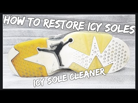 How To Restore Icy Soles | Ultimate Icy Sole Cleaner