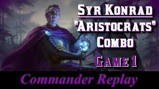 Syr Konrad Aristocrats Combo Game 1 vs Olivia Golos Yarok