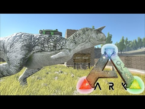 ARK: Survival Evolved #5 - Carnotaurus Fun Times!