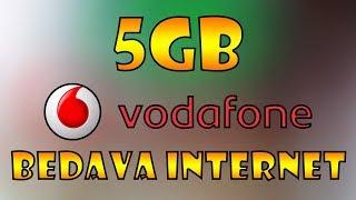 Vodafone Bedava 5 Gb İnternet 2019