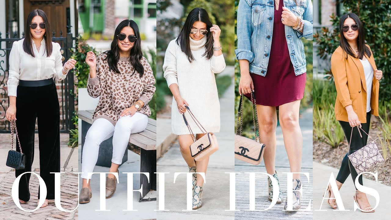 [VIDEO] - WHAT I WORE - 11 Easy Casual Outfit Ideas | LuxMommy 1