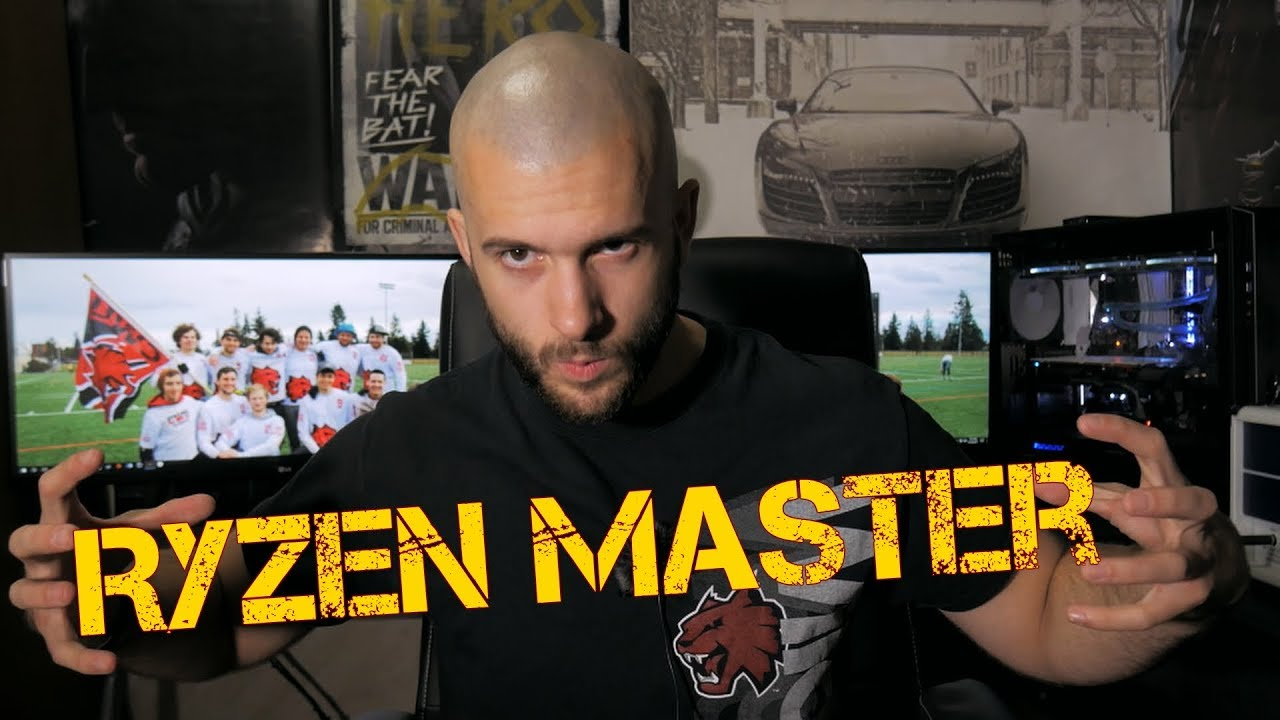 Ryzen Master - How to Overclock All ryzen CPU's The Easiest And Best Way