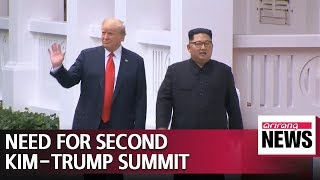 Trump believes he needs second summit with Kim Jong-un: Bolton