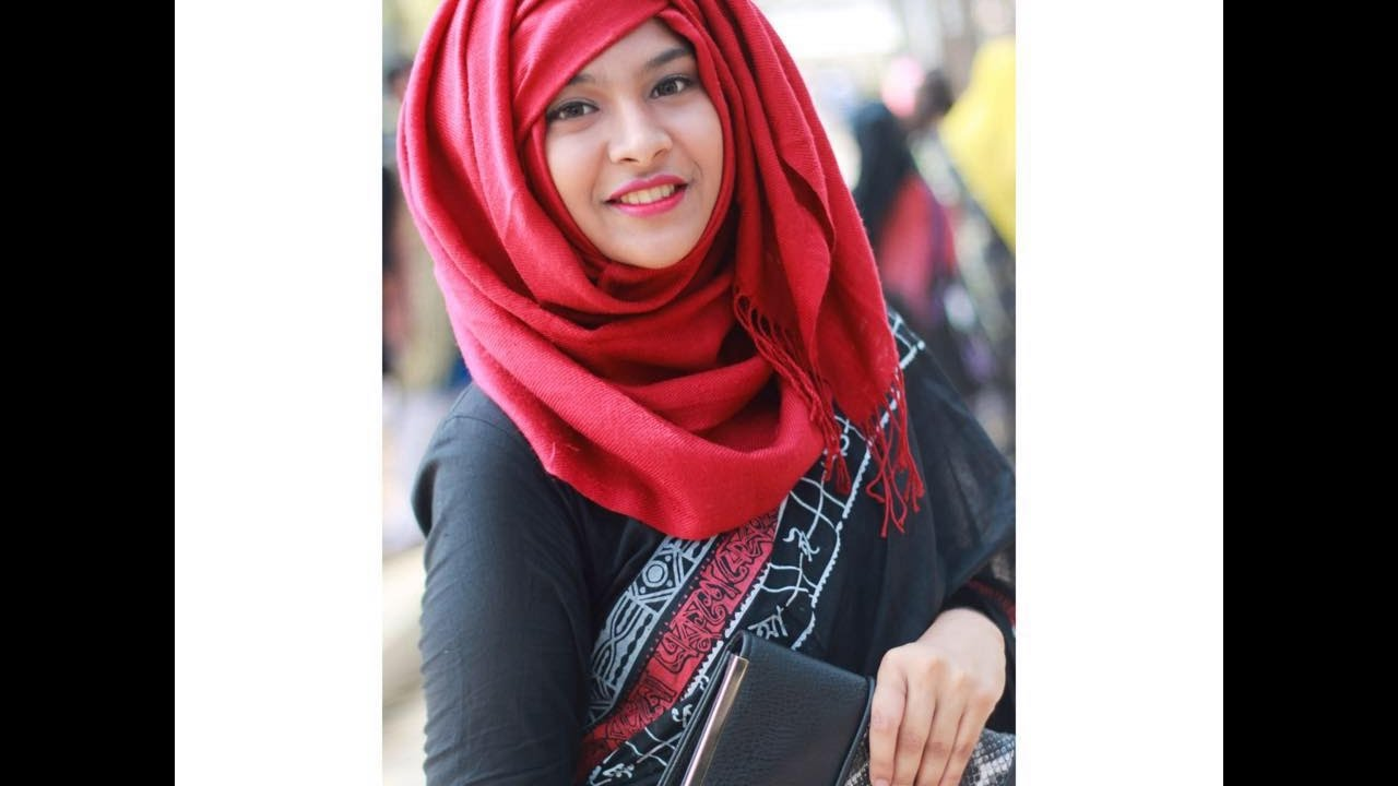 Hijab Style With Saree