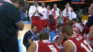 FIBA: France-Russia 79/71 (концовка игры)