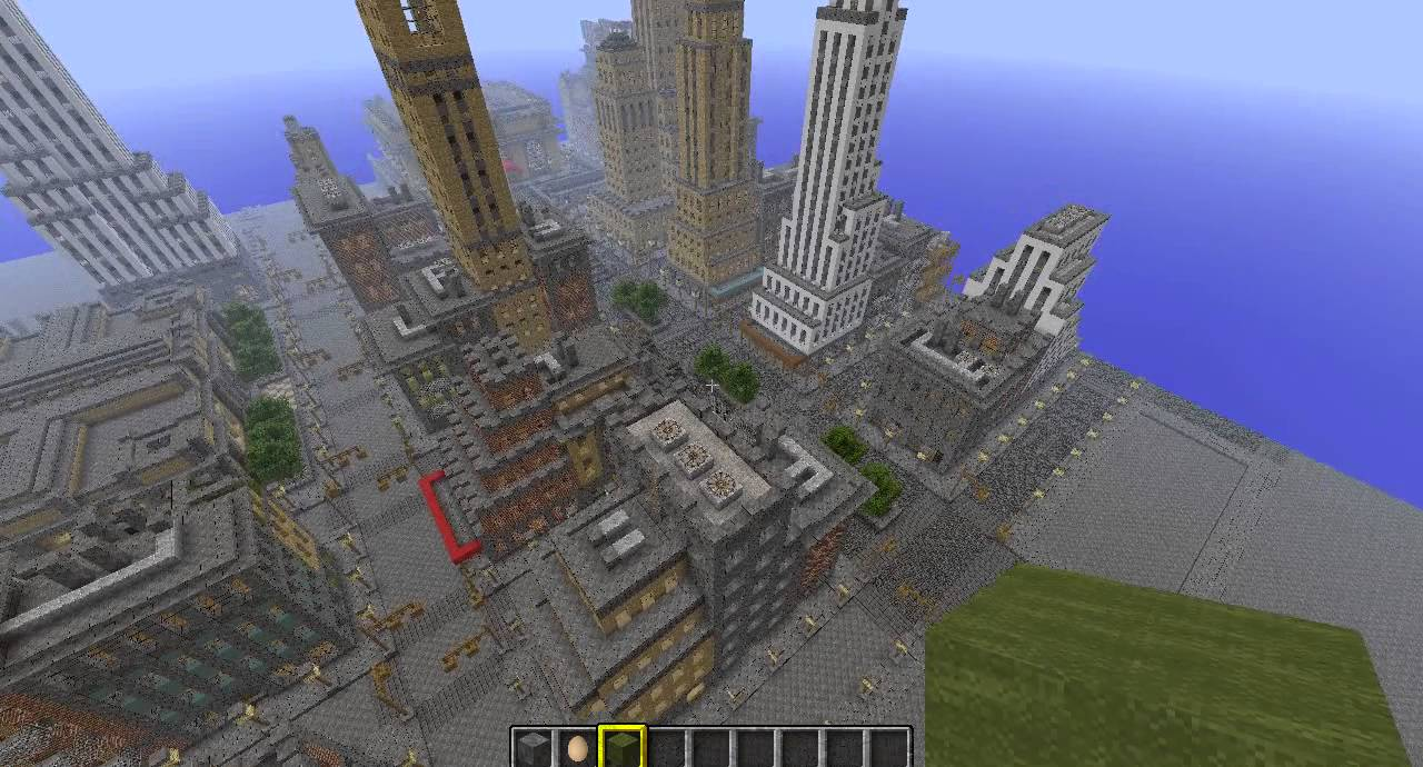 New York In MinecraftDownload Map And Texture Pack YouTube - New york map in minecraft