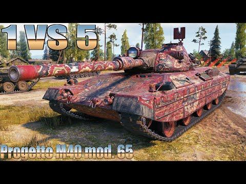 Progetto M40 Mod  65, НЕ РЕАЛЬНО КРУТОЙ БОЙ, КОЛОБАНОВ НА ПРОХОРОВКЕ