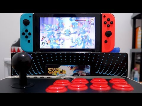 How To Connect 8bitdo N30 Arcade Stick To Nintendo Switch
