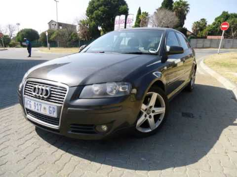 2006 audi a3 sportback 3 2 quattro ambition auto for sale on auto trader south africa youtube. Black Bedroom Furniture Sets. Home Design Ideas