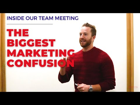 The Biggest Marketing Confusion Of All Time | Inside My Team Meeting