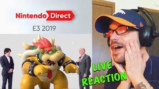 Nintendo Direct E3 2019 LIVE REACTION! WOW! | Ro2R