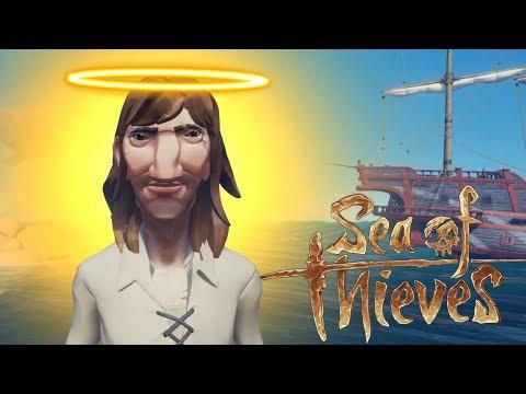 Jesus Plays Sea of Thieves