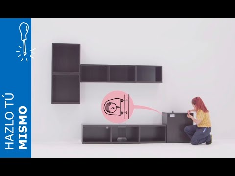 Instrucciones de montaje del mueble de televisi n con - Muebles de salon de ikea ...
