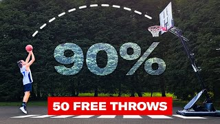 Can this Average Guy Shoot 90% from the Free Throw Line? (Ft. Ray Allen) | Above Average Joe