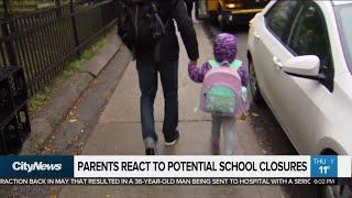 Parents React To Potential School Closures