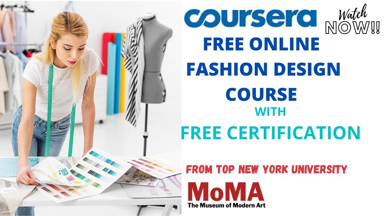 Free Online Fashion Designing Course Free Certification Abcs Youtube