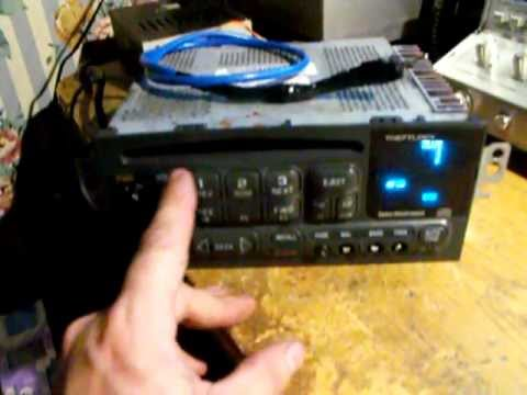 Delco Stereo With Aux Input - YouTube