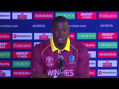 CWCQ : West Indies- Carlos Brathwaite Post match press conference 8th March 2018