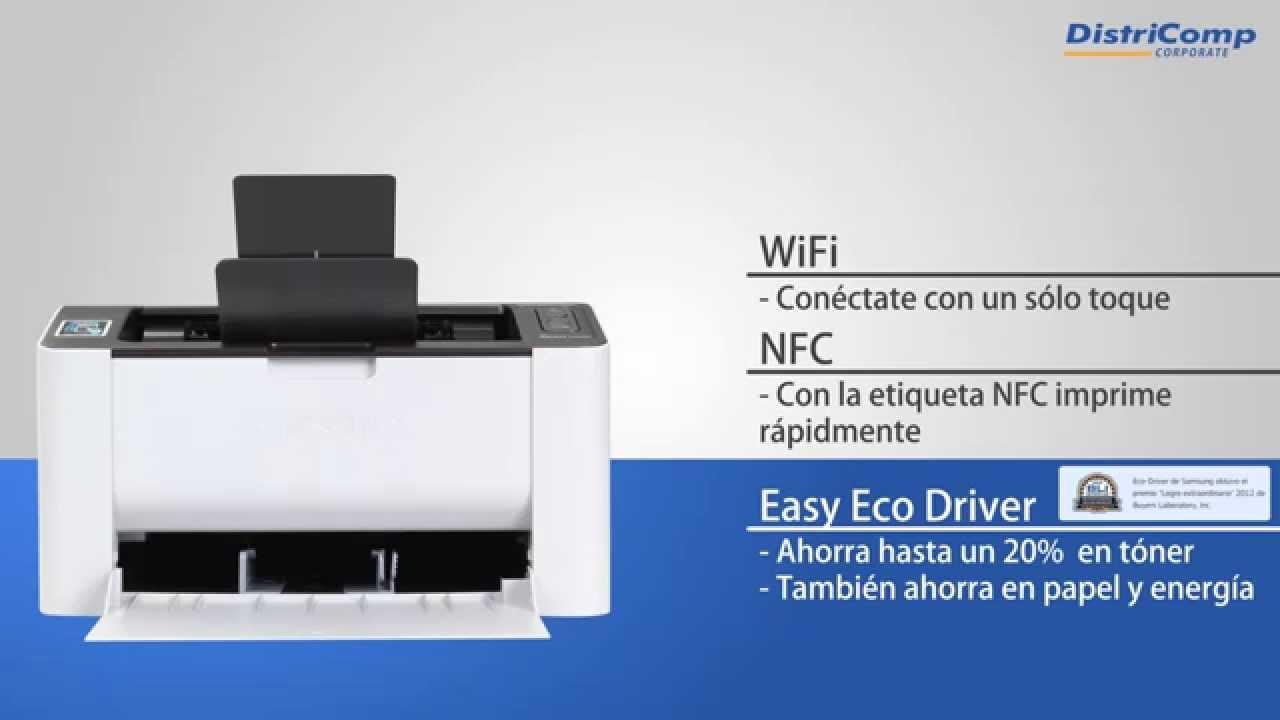 Impresora Multifunción Samsung SL M2020W Xpress - YouTube