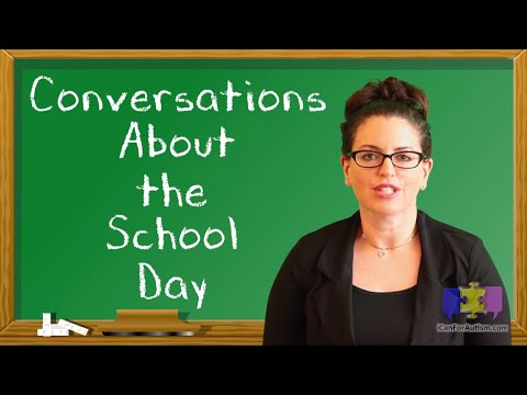 5 Engaging School Day Conversation Tips for your Child w/Autism