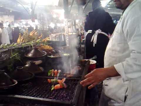 Aicha restaurant n 1 in jemaa el fna square marrakesh for Aicha moroccan cuisine san francisco