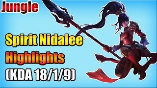 WE Spirit - Nidalee vs Evelynn - Jungle - Highlights (Nov 06, 2015)