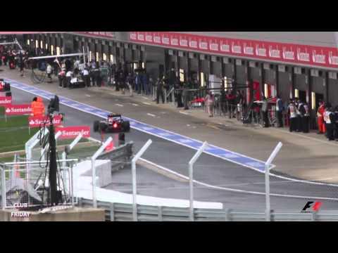 Silverstone - British Grand Prix 2011 - My Clips, Part 1