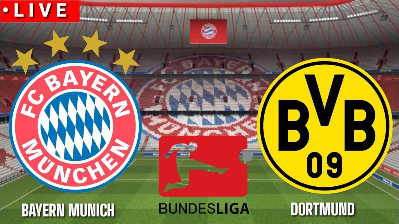 ???? [Trực Tiếp] Bayern Munich vs Borussia Dortmund 2020/2021||Pes17