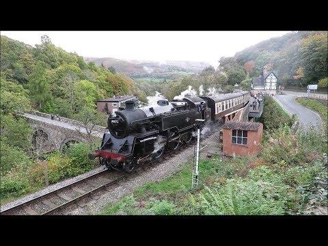 Llangollen Railway, Autumn Steam Gala 2017, Saturday 14th October