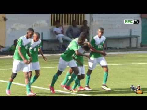 Extrait du match amical Cœlacanthes U17 des Comores Contre La sélection de Moroni