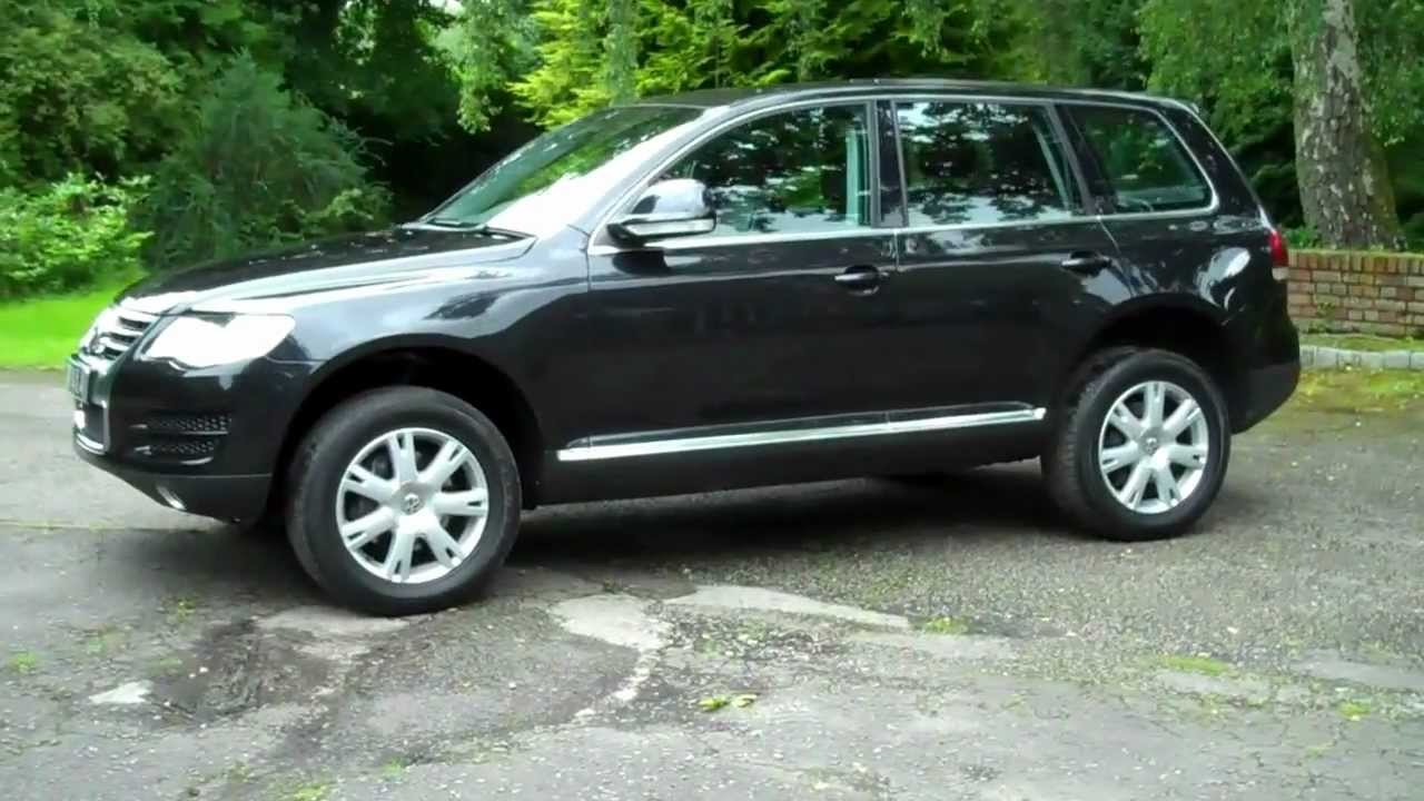 volkswagen touareg 3 0 v6 se tdi automatic 2007 07 12000 miles youtube. Black Bedroom Furniture Sets. Home Design Ideas