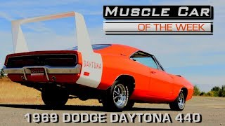 1969 Dodge Daytona 440: Muscle Car Of The Week Video Episode 227 V8TV