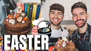 EPIC CHOCOLATE EASTER CAKE RECIPE with MR CARRINGTON  #StayHome BAKING