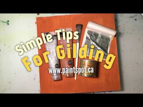 3 Ways to Apply Gold, Silver and Copper Leaf