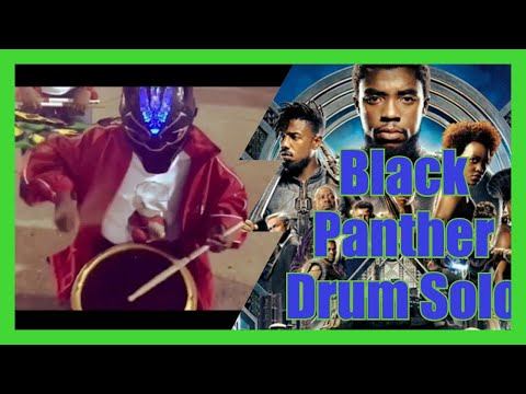 Drum Solo featuring Black Panther and Atlanta Drum Academy
