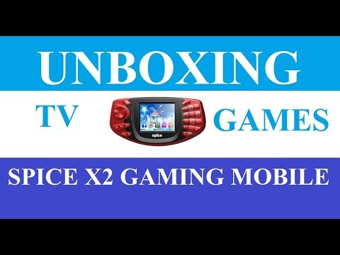 Unboxing Spice TV And Gaming Mobile Phone'' Good For Watching Cricket Matches Anywhere'''