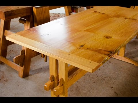 "How to Make Breadboard Ends {Part 16 of ""Build a Dovetail Desk with Hand Tools""}"