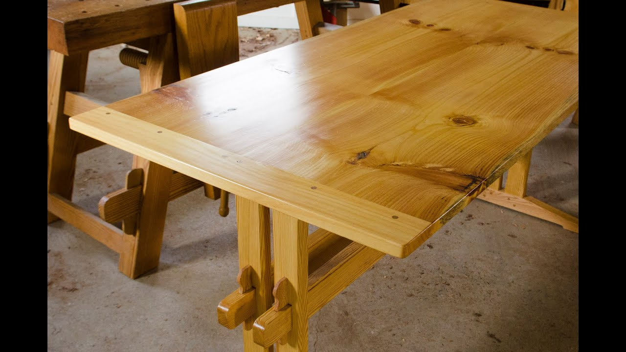 how to make breadboard ends part 16 of build a dovetail desk with